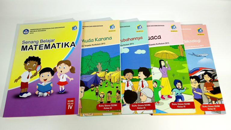 buku paket sekolah