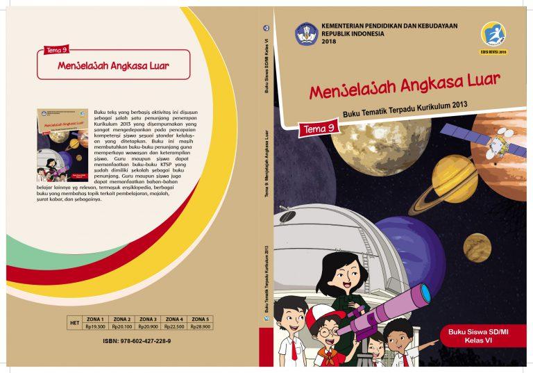 Kelas VI Tema 9 BS Cover