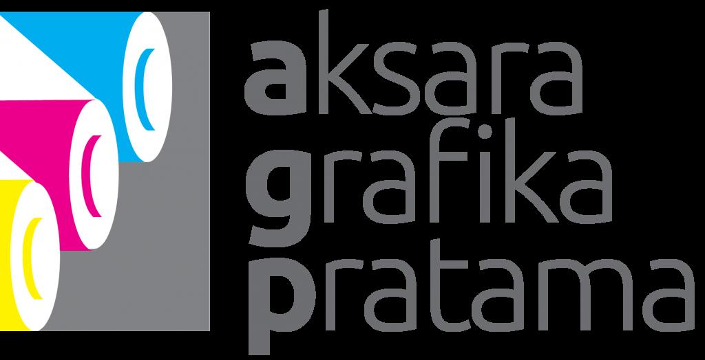 logo aksara grafika pratama